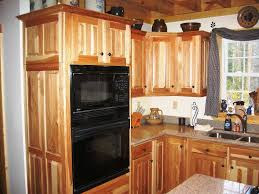 useful knotty hickory kitchen cabinets nice kitchen design ideas