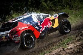peugeot dakar rally dakar 2016 peugeot dkr16 red bull 31
