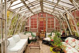 greenhouse sunroom boston greenhouse sunroom shabby chic style with baskets