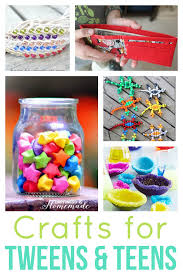 40 easy crafts for tweens happiness is