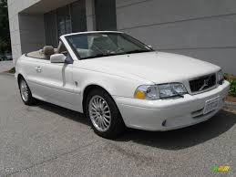 volvo convertible 2003 white volvo c70 lt convertible 10683484 gtcarlot com car