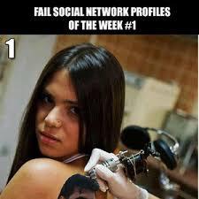 Social Network Meme - fail social network fails 1 by ben meme center