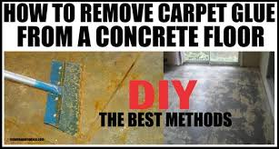 How To Remove Spray Paint From Concrete Patio How To Remove Carpet Glue From Concrete Flooring