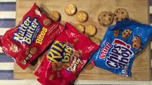chips ahoy ritz bits and nutter butter bites tasting youtube