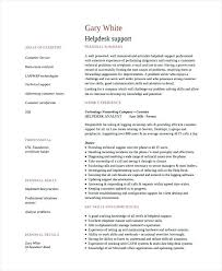 Resume For It Support Resume Resume Templates Community Support Worker Help Desk