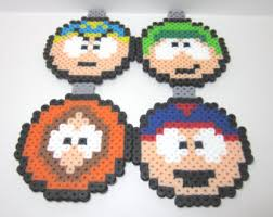 south park jesus perler bead tree topper and