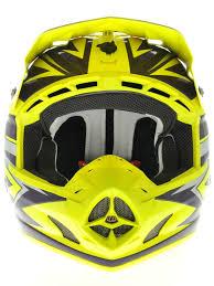 troy lee motocross gear troy lee designs yellow purple 2013 se3 cyclops mx helmet troy