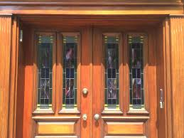 stained glass home decor arts crafts entryway door panels mclean stained glass studios