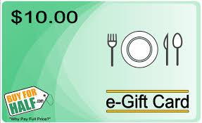 restaurant gift cards half price 5 00 gets you 10 00 at kristy s casual dining waretown nj