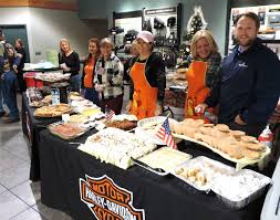 thanksgiving for the troops at javelina harley davidson in boerne