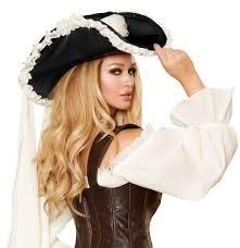 pirate costume spirit halloween ruffled pirate hat costume craze