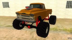 lexus monster truck 1958 chevrolet apache monster truck for gta san andreas
