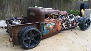 Old Ford Truck Diesel Conversion - 1931 ford model a rat rod pickup with a 2jz u2013 engine swap depot