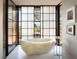 designer master bathrooms designer kendall wilkinson fabulous onyx tub in a light filled