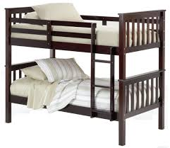 Photos Of Bunk Beds Bernards Sadler Merlot Finish Bunk Bed Royal Furniture