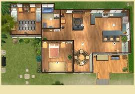 beach house layout beach lot calipip sims