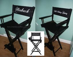 Makeup Chairs For Professional Makeup Artists Personalized Makeup Artist Chairs