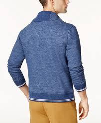hilfiger sweater mens hilfiger s shawl collar patch cardigan sweaters