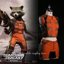 Raccoon Halloween Costumes Guardians Galaxy Cosplay Rocket Raccoon Costumes