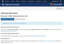joomla sitemap generator marco beierer