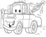 mater tall tales disey cars 2 coloring pages printable