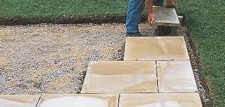 Paving Ideas For Gardens Paving Walling Outdoor Garden Diy At B Q