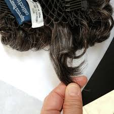 thin hair pull through wigltes curly wiglet topper hair piece for thinning crown top piece pull