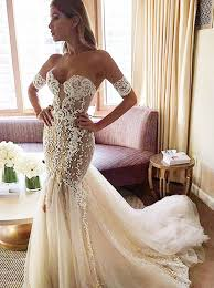 lace mermaid wedding dress buy stylish sweetheart watteau mermaid wedding dress with