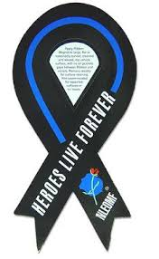 memorial ribbons fallen officer memorial ribbon ohana fallen officer