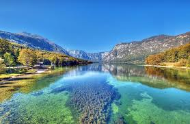 slovenia lake bohinj a beautiful valley and a lake embedded in the mountains