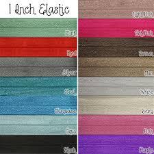 elastic ribbon wholesale 1 inch fold elastic