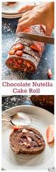 chocolate nutella cake roll cook with manali