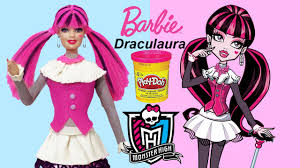 Monster High Doll Halloween Costumes by Play Doh
