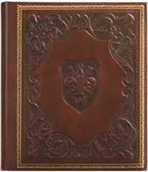 Leather Bound Wedding Album Amazon Com Leather Bound Photo Album A Handmade Italian Classic