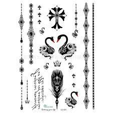 fashion freedom angel wings waist tattoos harajuku arm women