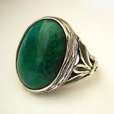 green stone rings images Eilat stone silver ring green stone ring israeli jewelry jpg