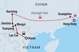Guangzhou China Map by Hanoi To Hong Kong China Tours Intrepid Travel Au
