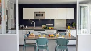 photo de cuisine ouverte cuisine ouverte sur séjour maison design amenagement sejour cuisine