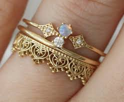 Stacked Wedding Rings by 19 Stunning Stacked Wedding Ring Sets You U0027ll Say Yes To Opals