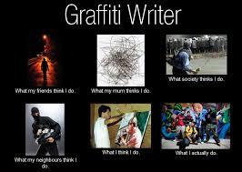 Graffiti Meme - graffiti writer what my friends think i do what i really do meme