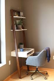 Small Desk Brown Best 25 Ladder Desk Ideas On Pinterest Desk Ideas Bedroom