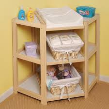 Changing Table Basket Badger Basket Corner Changing Table Baby World Storebaby