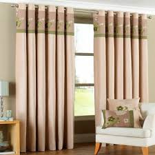 Green And Beige Curtains Buy Bloomsbury Ring Top Curtains Buy Winter Curtains