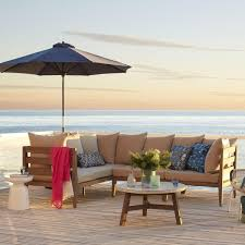 West Elm Outdoor by Jardine Sectional Cushion Covers West Elm Au