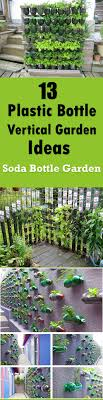 Bottle Garden Ideas 13 Soda Bottle Vertical Garden Ideas Dan330