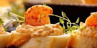 canapé tarama canapés aux crevettes tarama et citron vert mes recettes faciles