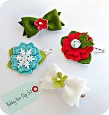 Flower Clips For Hair - gray fabric bow hair clip flower hair clips felt flowers and