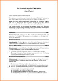 sample proposal for services example of a proposal letter executive summary cover letter