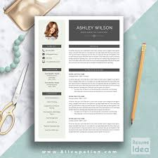 template cv word modern creative resume template modern cv template word cover letter resume