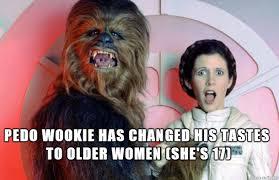 Breast Meme - chewie adjustingprincess leia s breast meme on imgur